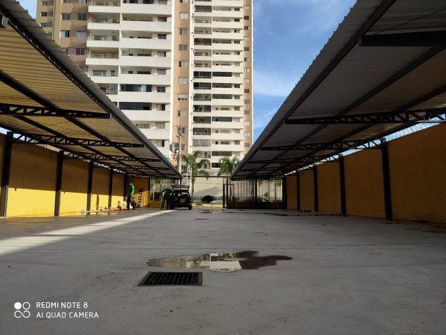 Cobertura metalica acabamento em policarbonato é telhas - Foto 4