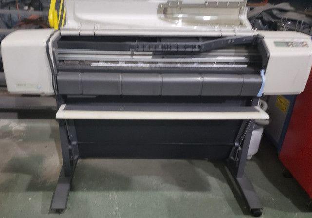 Impressora Plotter Hp Designjet 500 - Bivolt - Usada - Foto 2