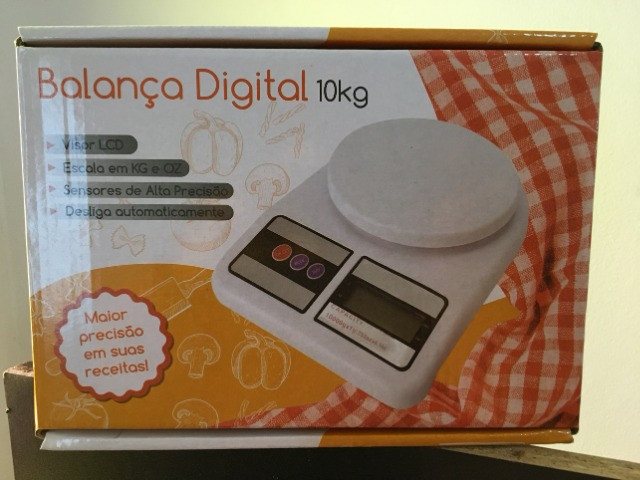 Balança Digital De Precisão 1 Gr Até 10 Kg Para Cozinha e Laboratório - Foto 5