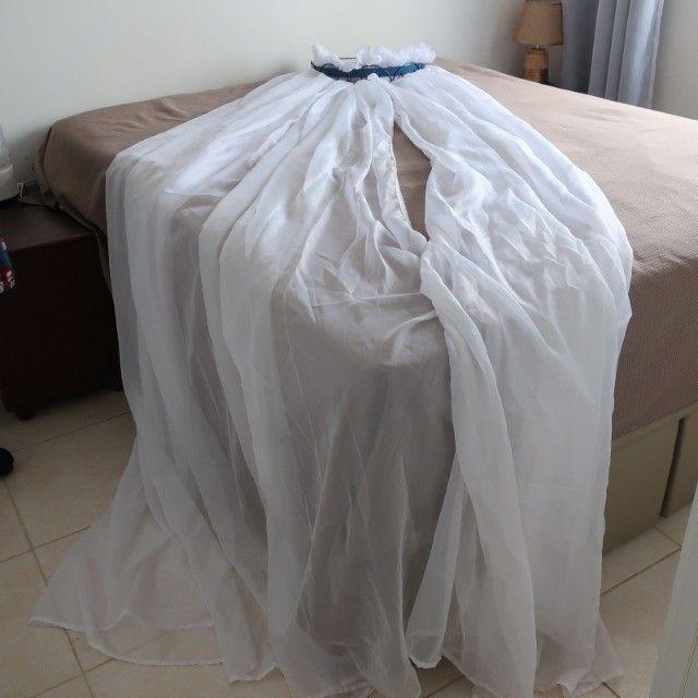 Mosquiteiro Em Voal Para Berço Com Dorcel Arabesco - Foto 2