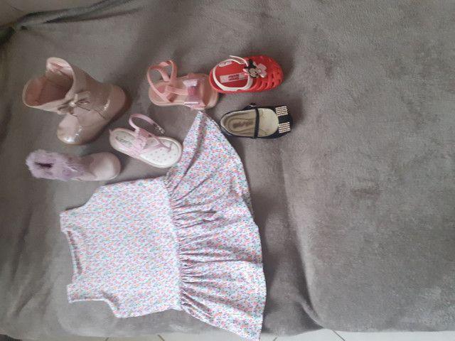 Liquidação  de roupas  e calçados  infantil ??