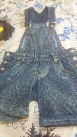 Jardineira jeans - Foto 3