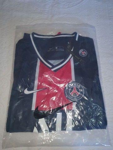 Camisa PSG Home 2021- Masculino - Foto 4