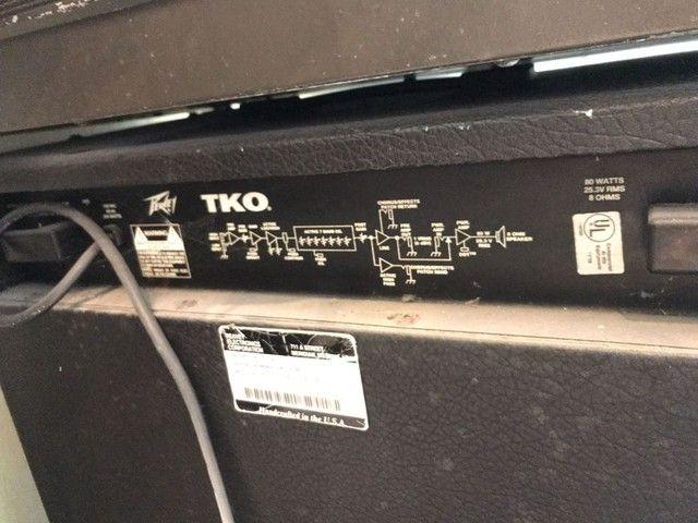 Amplificador de baixo Peavey TKO 115s - Foto 3
