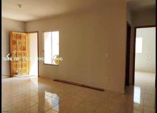 Casa para Venda em Ponta Grossa, Campo Belo, 2 dormitórios, 1 banheiro, 2 vagas