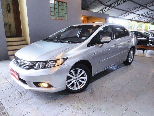 New Civic Lxr 2.0 Flex 2014 (Financia 100%)-Vendo,Troco ou Financio