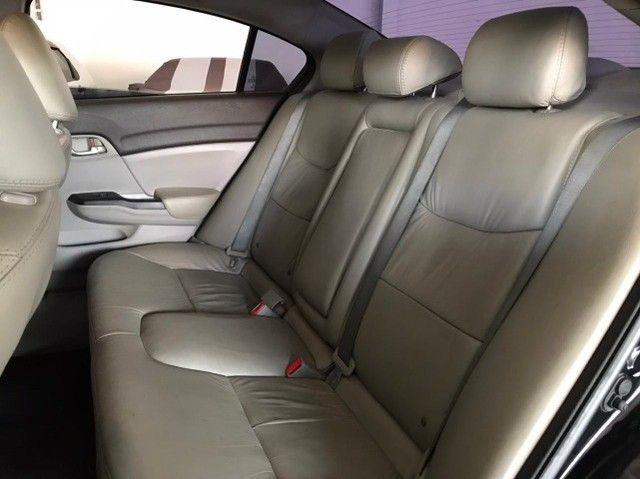 Honda Civic lxs 1.8 automatico 2014 - Foto 12
