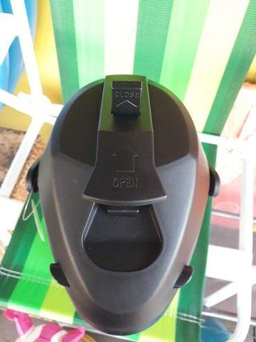 Garrafa Térmica Aço Inox 2,5 Litros com alavanca de pressão - Foto 2