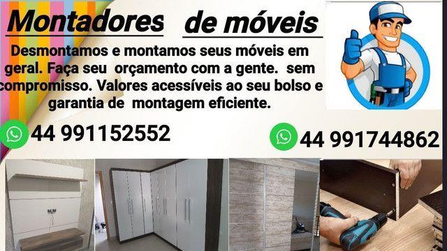 Montadores de móveis.