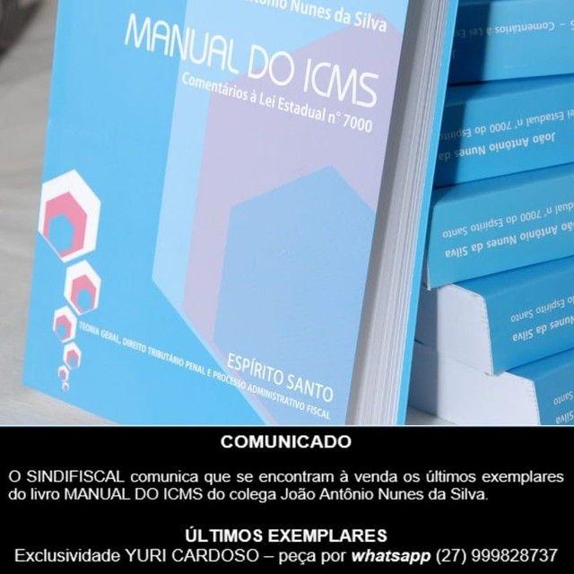 CONCURSO SEFAZ - 2021 - MANUAL DO ICMS