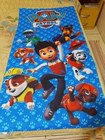 Toalhas infantil personagens  - Foto 2