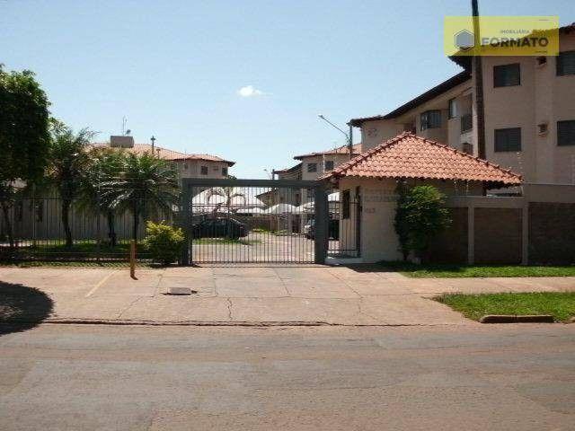 Apartamento para alugar, 84 m² por R$ 800,00/mês - Jardim São Lourenço - Campo Grande/MS