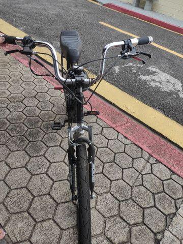 Bike motorizada (semi nova) - Foto 4