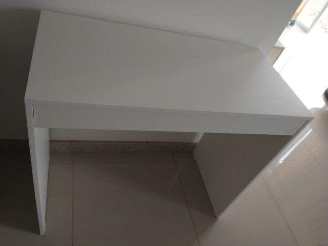 Mesa com gavetas/multiuso / escritório/ escrivaninha Nova MDF - Foto 5