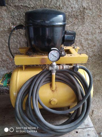 Compressor para trabalhos domésticos