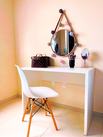 Mesa / escrivaninha/ escritório/ com engrossamento 3cm / novo MDF