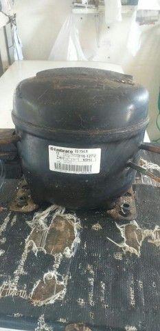 Compressor ou motor 1/5 R$ 330