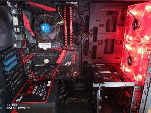 PC Gamer i5 7400 Mobo Strix M2 512Gb 8Gb Ram - Foto 5