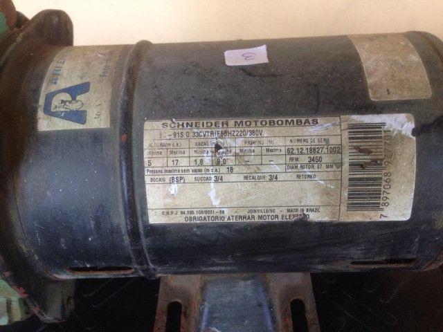Bomba Centrífuga Schneider   Trifásica   Usada - Foto 2