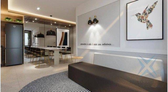 Apartamento compacto à venda, 37 m² por R$ 322.000 - Engenheiro Luciano Cavalcante - Forta - Foto 4