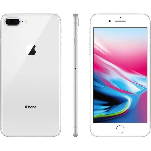 Apple Iphone 8 plus swap 64gb na cor Branco Top em Gyn - Foto 3