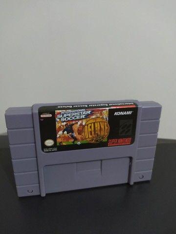 Jogo Superstar Soccer Super Nintendo