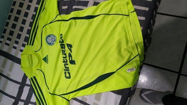 Vendo camisa do Palmeiras 2008/09 Original  - Foto 5