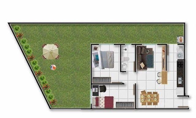 Apartamento para Venda em Ponta Grossa, Oficinas, 2 dormitórios, 1 banheiro, 1 vaga - Foto 2