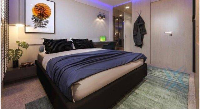 Apartamento compacto à venda, 37 m² por R$ 322.000 - Engenheiro Luciano Cavalcante - Forta - Foto 5