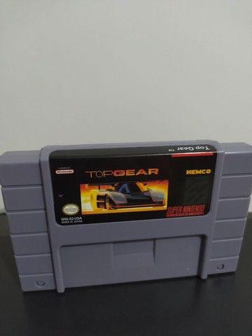 Jogo Top Gear super Nintendo