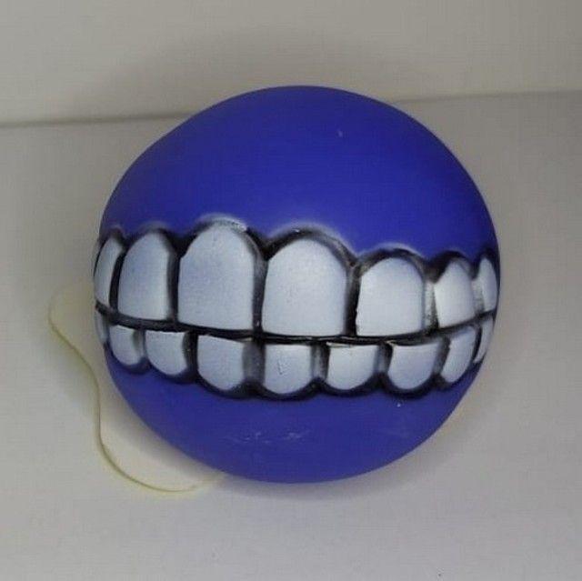 Bolinha Com Dentes Para Cachorro - Sorriso Pet - Foto 4