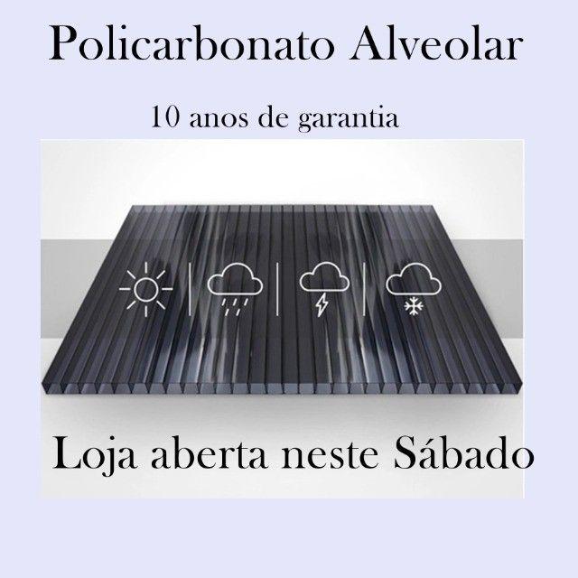 Placa de Policarbonato Alveolar Coberturas  - Foto 2