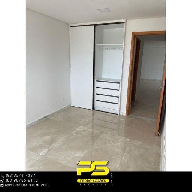 Apartamento com 3 dormitórios para alugar, 190 m² por R$ 6.200/mês - Altiplano Cabo Branco - Foto 14
