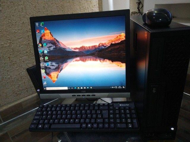 Pc Core i3-4160 de 3.6 GHz, Memória 12 GB, HD 500, Monitor 17, Completo. - Foto 4
