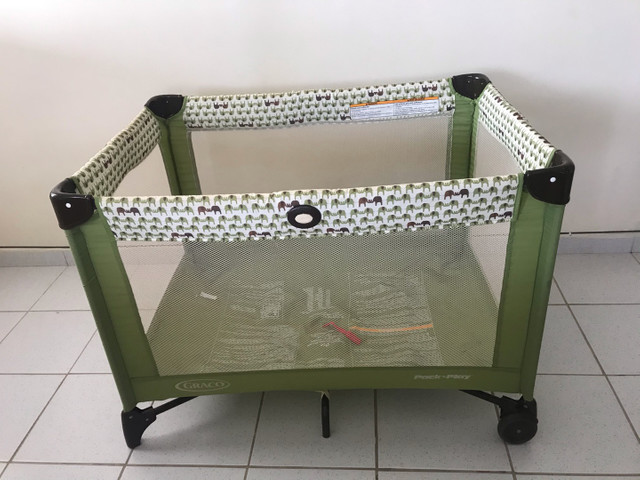 Berço portátil GRACO + colchão ortobom selado