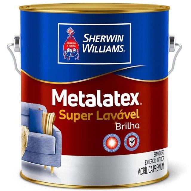 Tinta Metalatex Super Lavável - Foto 4
