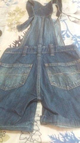 Jardineira jeans - Foto 4