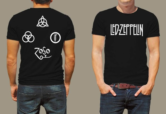 Camisa led zeppelin camiseta led zeppelin