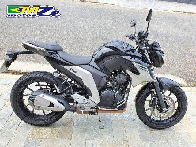 Yamaha FZ 25 Fazer 2020 Preta com 15.000 km - Foto 2