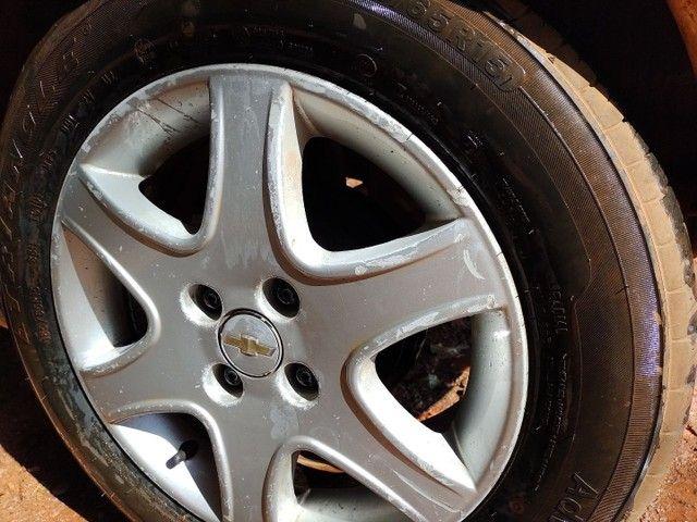 Rodas originais Chevrolet aro 15 - Foto 4