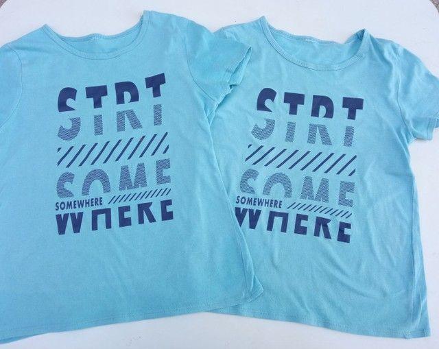 Lote de camisetas Tam 6 - Foto 3