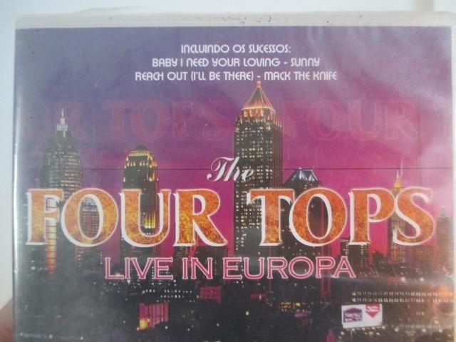 Four Tops - Live in Europa novo, lacrado de fábrica - Foto 4