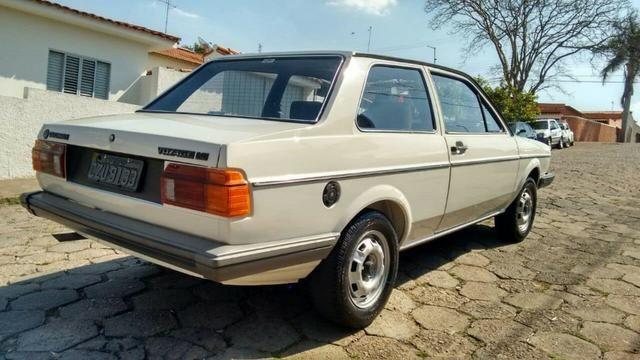 Vw - Volkswagen Voyage LS Placa Preta Original - Foto 6