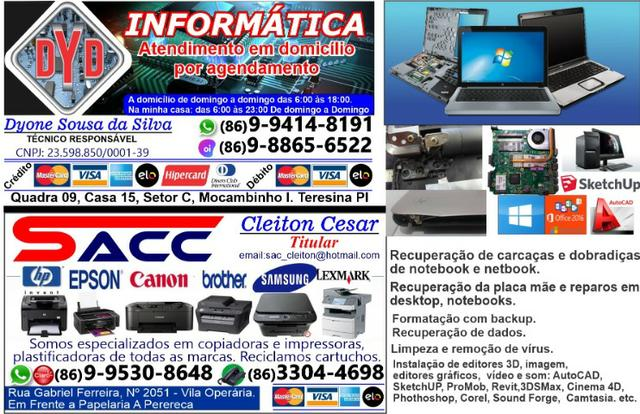 Serviços de Informática a Domicílio