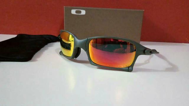 d8ebcabecd8cf Óculos Oakley Xsquared Xmetal Ruby Polarizado Novo Frete grátis ...