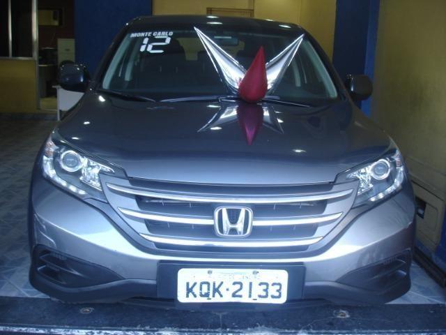 Honda Cr-v LX 2.0 Gasolina Completo Ano 2012 - financio em ate 60x