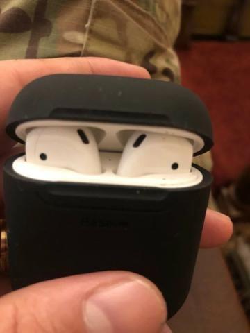 Baseus Luxo Caso de Carregamento Sem fio Apple Airpods - Foto 5
