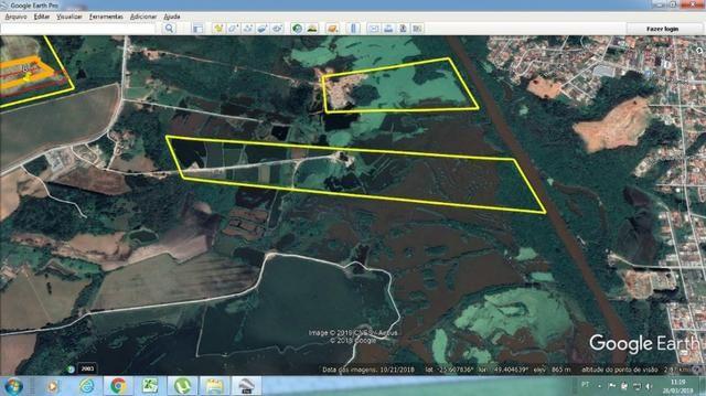 REF. 2453 Areial com cavas e tanques de peixe, com 10 alqueires á 5 km do Centro - Foto 2