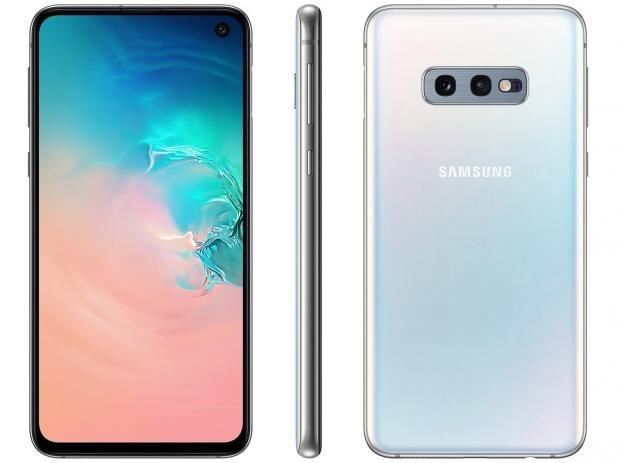 Galaxy S10e Branco Novo/ 1 Ano de Garantia/ Anatel / Nfe
