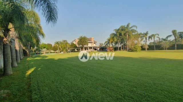 Casa com 4 dormitórios à venda, 506 m² por r$ 2.300.000,00 - lomba grande - novo hamburgo/ - Foto 7